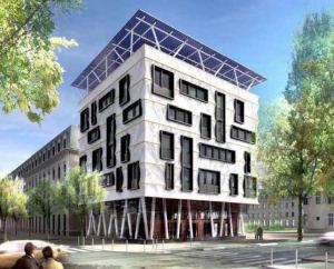 Bureaux à énergie positive, ZAC de Bonne, Grenoble (38)