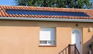 capteur solaire chauffage solaire combiné