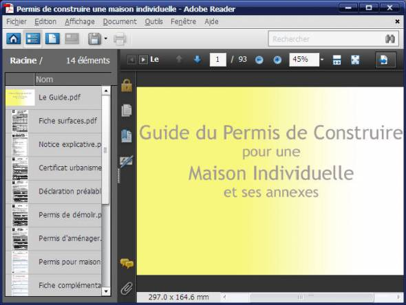 Guide du permis de construire 2014 for Guide construction maison individuelle