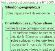 conforme RT 2005