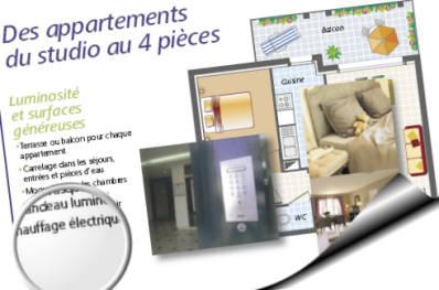 brochure descriptive d'un programme de promoteur immobilier