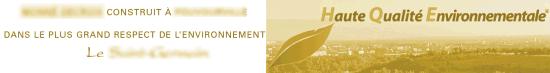 programme immobilier Haute Qualité Environnementale