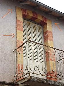 Traitement humidit fissures toile de verre sur maison - Enlever toile de verre ...