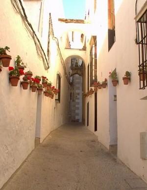 façade chaulée en Andalousie