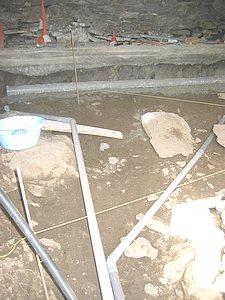 R aliser une dalle en b ton de chaux - Pose de pave sur beton maigre ...