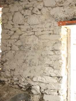 arroser les murs